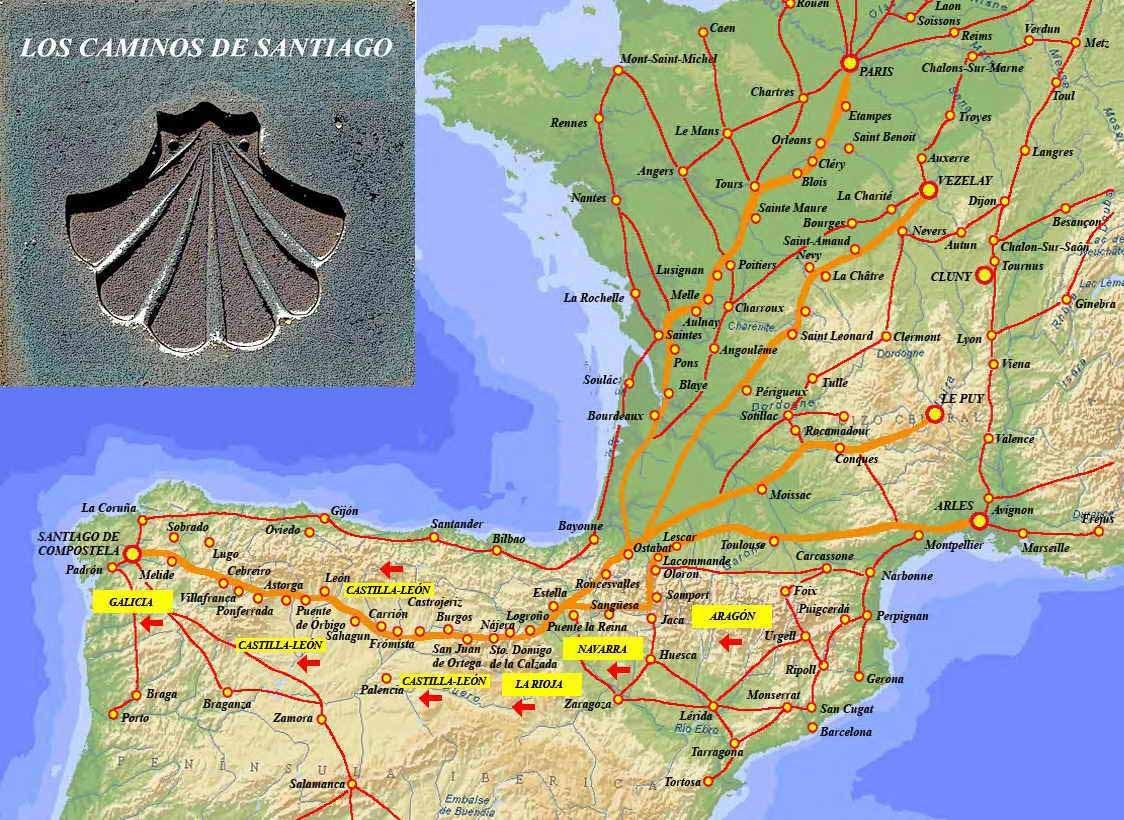 Welcome to Train for the Camino de Santiago  trainforthecamino.com